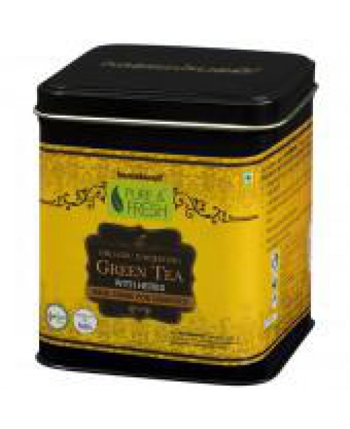 Healthbuddy Organic Green Tea With Herbs (Diabetics)